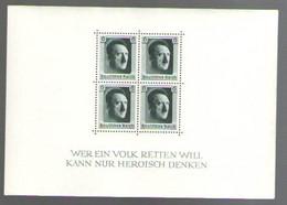 ГЕРМАНИЯ    Michel  БЛОК # 7  1937  MNH* - Blocks & Kleinbögen
