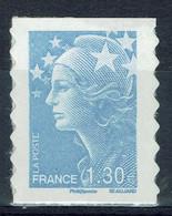 France, 1,30€ Marianne De Beaujard Autoadhesif, 2009, **, TB - Ongebruikt
