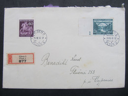 BRIEF Plzen - Tlucna Vejprnice 1943   ///  C2817 - Briefe U. Dokumente