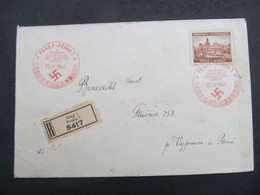 BRIEF Praha Vejprnice 1941 SSt. 20K EF ///  C2832 - Briefe U. Dokumente