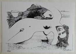 EX LIBRIS BAUDOUIN N° 89/99 SIGNE  XL - Künstler A - C