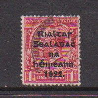 IRELAND    1922    1d  Red     Printed  By  Thom    USED - Used Stamps