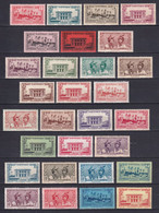 MARTINIQUE - YVERT N° 133/154 * MH - COTE 2022 = 43 EUROS - - Unused Stamps