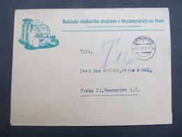 BRIEF Nezamyslice 2.6.1945 Milk Milch ///  C2828 - Covers & Documents