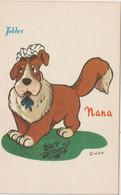 Illustrateur   :  Tobler Chocolat, Walt Disney  : Nana  Le  Chien - Andere Illustrators