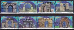 2013-ED. 4763 A 4770- SERIE COMPLETA- ARCOS Y PUERTAS MONUMENTALES-USADO - 2011-... Usati