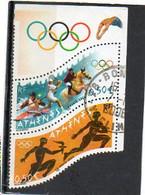 FRANCE  2 Timbres 0,50 € Se Tenant  +vignette     2004   Y&T: 3686 Et 3687     Oblitérés - Gebruikt
