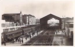 GARES Avec TRAIN - 83 - TOULON Vue Générale Des Quais De La Gare - CPSM Photo Dentelée Format CPA - Var - Estaciones Con Trenes
