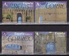 2015-ED. 4924 A 4927 - Serie Completa - Arcos Y Puertas Monumentales -USADO - 2011-... Usati