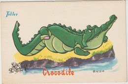 Illustrateur   :  Tobler Chocolat, Walt Disney  : Le  Crocodile - Andere Illustrators
