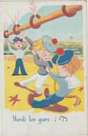 Illustrateur   :  Rose :  Hardi Les  Gars , Marin - Andere Illustrators