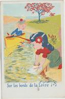 Illustrateur   :  Rose : Marin En Barque , Laveuse-lavoir - Andere Illustrators