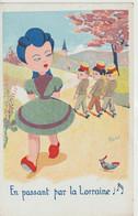 Illustrateur   :  Rose : Soldat  , En Passant Par La  Lorraine - Andere Illustrators