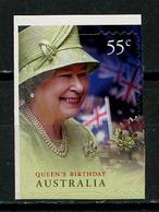 AUSTRALIE 2010 N° 3244 ** Auto Adhésif Neuf MNH Superbe C 1.20 € Anniversaire Reine Elizabeth II Portrait - Mint Stamps