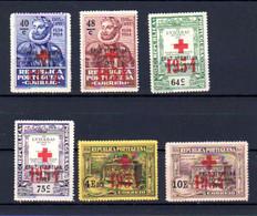 Portugal 1933, Franchise, Camoens Surchargés, 71 / 76 Sans Gomme, Cote 18 € - Unused Stamps