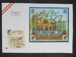 FDC Fauna Tiere  //  C3021 - 2001-10 Covers
