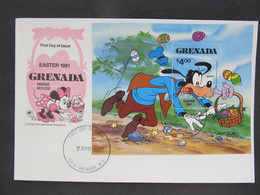 FDC Walt Disney Grenada 1981  //  C3022 - Fiabe, Racconti Popolari & Leggende