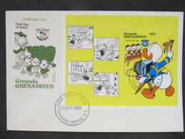 FDC Walt Disney Grenada 1981  //  C3023 - Fiabe, Racconti Popolari & Leggende