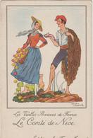Illustrateur   :  Jean Droit : Le  Comté  De Nice(  Farine  Jammet) - Andere Illustrators