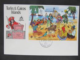 FDC Walt Disney Turks Caicos 1981  //  C3025 - Fiabe, Racconti Popolari & Leggende