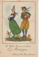 Illustrateur   :  Jean Droit : La  Bretagne  (  Farine  Jammet) - Andere Illustrators