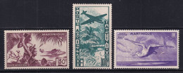 MARTINIQUE - POSTE AERIENNE - YVERT N° 13/15 ** MNH - COTE 2022 = 84 EUROS - - Unused Stamps