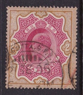 India Edward  1902 2 Roupee  Red And Brown Good Used - 1902-11 King Edward VII