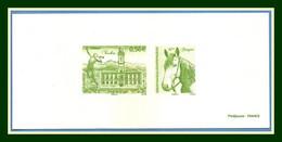 Gravure N° 4368 TARBES 2009 Proof France Cheval Horse - Horses