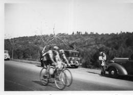 Photographie Anonyme Vintage Snapshot Bicycle Bicyclette Vélo Cyclisme Sport - Sport