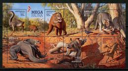 AUSTRALIE 2008 Bloc N° 109 ** Neuf MNH Superbe C 10 € Faune Géante Genyornis Procoptodon Megalania Animaux - Mint Stamps
