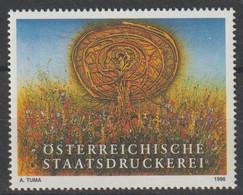 """1996 - ÖSTERREICH - Vig. """"Österr. Staatsdruckerei""""  ** Ungebraucht - S.Scan  (vig ösd  01-02   At) - Private Stamps"""