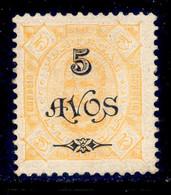 ! ! Timor - 1902 D. Carlos W/OVP 5 A - Af. 85 - MH - Timor