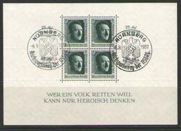 ГЕРМАНИЯ    Michel  БЛОК # 11   НЮРНБЕРГ 1937  MLH OG - Blocks & Kleinbögen