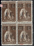 PORTUGAL 1928 30C Ceres - Initial Cliche XXVIII. Bars To Study- All MNHOG No Faults. - Unclassified