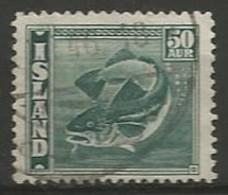ISLANDE N° 196 OBLITERE - Used Stamps
