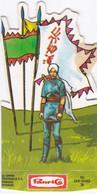 Panrico. Cromo Troquelado. La Frontera Azul 1978. Hu San-Niang.28 - Zonder Classificatie