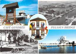 14 - Bénouville - Pégasus Bridge Café Gondrée - Multivues - Otros Municipios