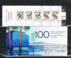 OC 192 - FINLANDE - Le Lot De 2 Carnets N° 924, 1100 -  N** - Boekjes