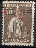 PORTUGAL 1928 30C Ceres -. Bars III/VI + Print Error-  MNHOG No Faults. - Unclassified