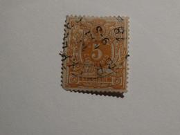 COB 28 5c - 1869-1888 Lion Couché