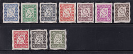 MARTINIQUE - TAXE SERIE COMPLETE - YVERT N° 27/36 ** MNH - COTE 2022 = 18 EUROS - - Unused Stamps