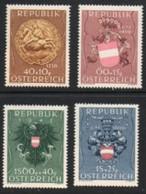 1949 - 937 - 940 - ** -  Kriegsgefangenen- Und Heimkehrerfürsorge - 1945-60 Unused Stamps