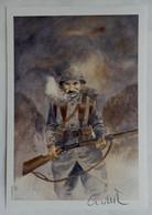 EX LIBRIS Damien CUVILLIER N°54-99 SIGNE POILU XL - Künstler A - C