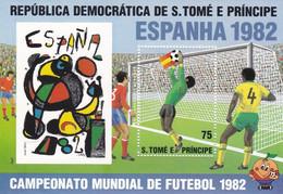 Santo Tome Y Principe Hb 32 - 1982 – Spain