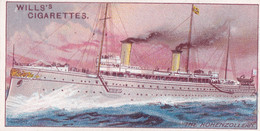 Celebrated Ships 1911 - Wills Cigarette Card - Celebrated Ships -  42 The Hohenzollern - Wills