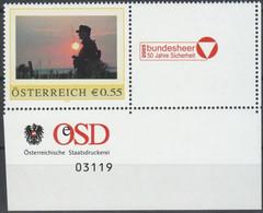 Personalisierte Marke Mit Bogennummer Aus Österreich - Postfrisch ** - Euronominale = 0,55 (F1695) - Private Stamps