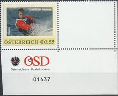 Personalisierte Marke Mit Bogennummer Aus Österreich - Postfrisch ** - Euronominale = 0,55 (F1696) - Private Stamps