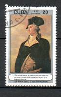 CUBA  G Wasshington 1982 N°2407 - Used Stamps