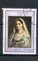CUBA  Oeuvres De Raphael 1983 N°2453 - Used Stamps