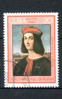 CUBA  Oeuvres De Raphael 1983 N°2455 - Used Stamps